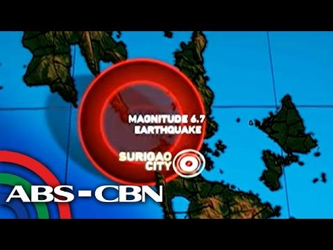 Bandila: Northern Mindanao, niyanig ng magnitude 6.7 na lindol