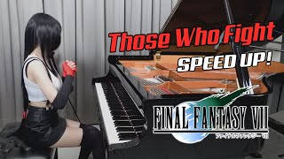 Final Fantasy VII - Those Who Fight - Ru's Piano   When Tifa played FF7 Battle Theme 🔥