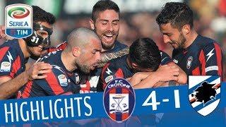 Crotone - Sampdoria 4-1- Highlights - Giornata 28 - Serie A TIM 2017/18 streaming