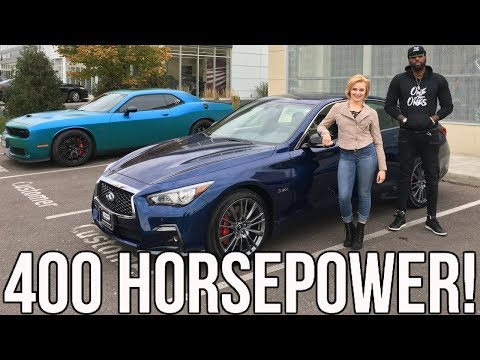 2018 Infiniti Q50s Red Sport Review!! From A Tall Guys Perspective..