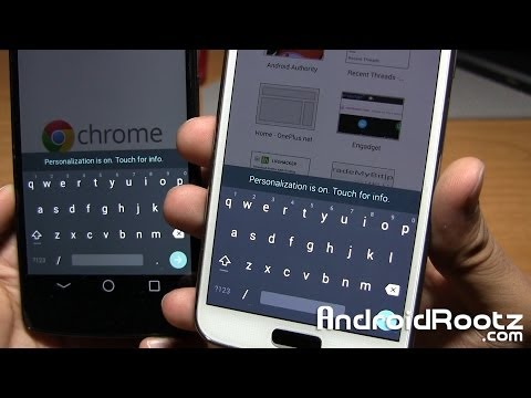 Get Android L Keyboard and Google Home Launcher on any Android Device!