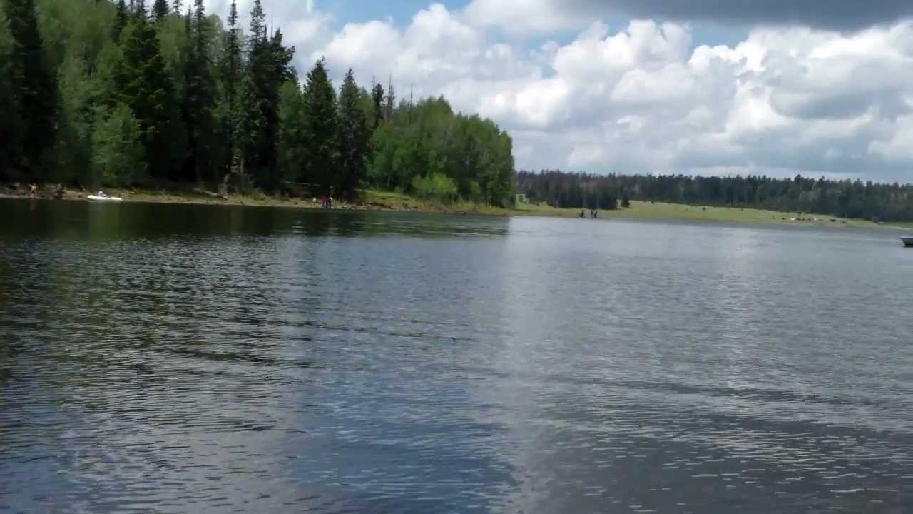 Fishing at big lake az youtube for Fishing lakes in arizona