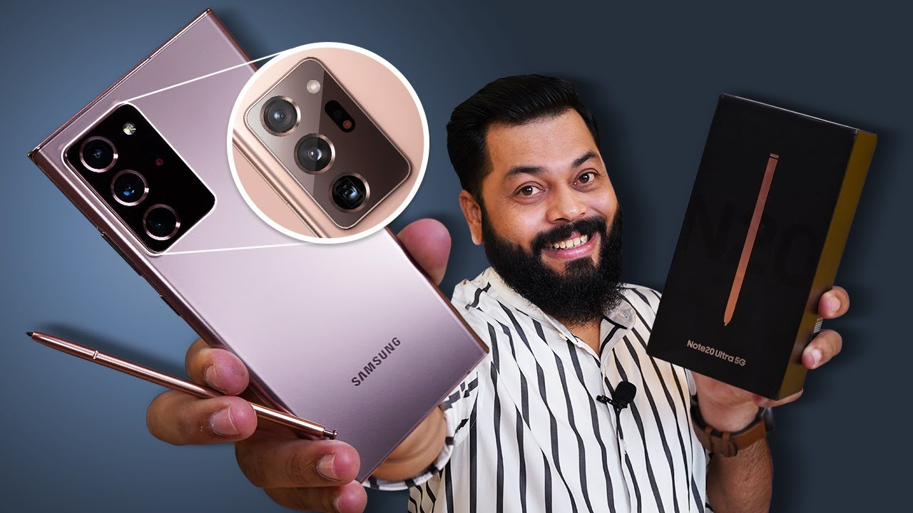 Download Samsung Galaxy Note 20 Ultra 5G Unboxing & First Impressions ⚡⚡⚡ True Ultra Flagship Of 2020?