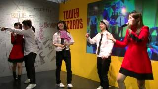 タワーレコード梅田NU茶屋町店にて、同じ日にリリースイベントを行った...