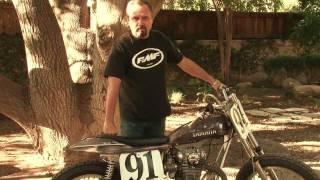 Yamaha 650 Flat Tracker Motorcyle - Yamaha Flat Tracker & Redline Frame