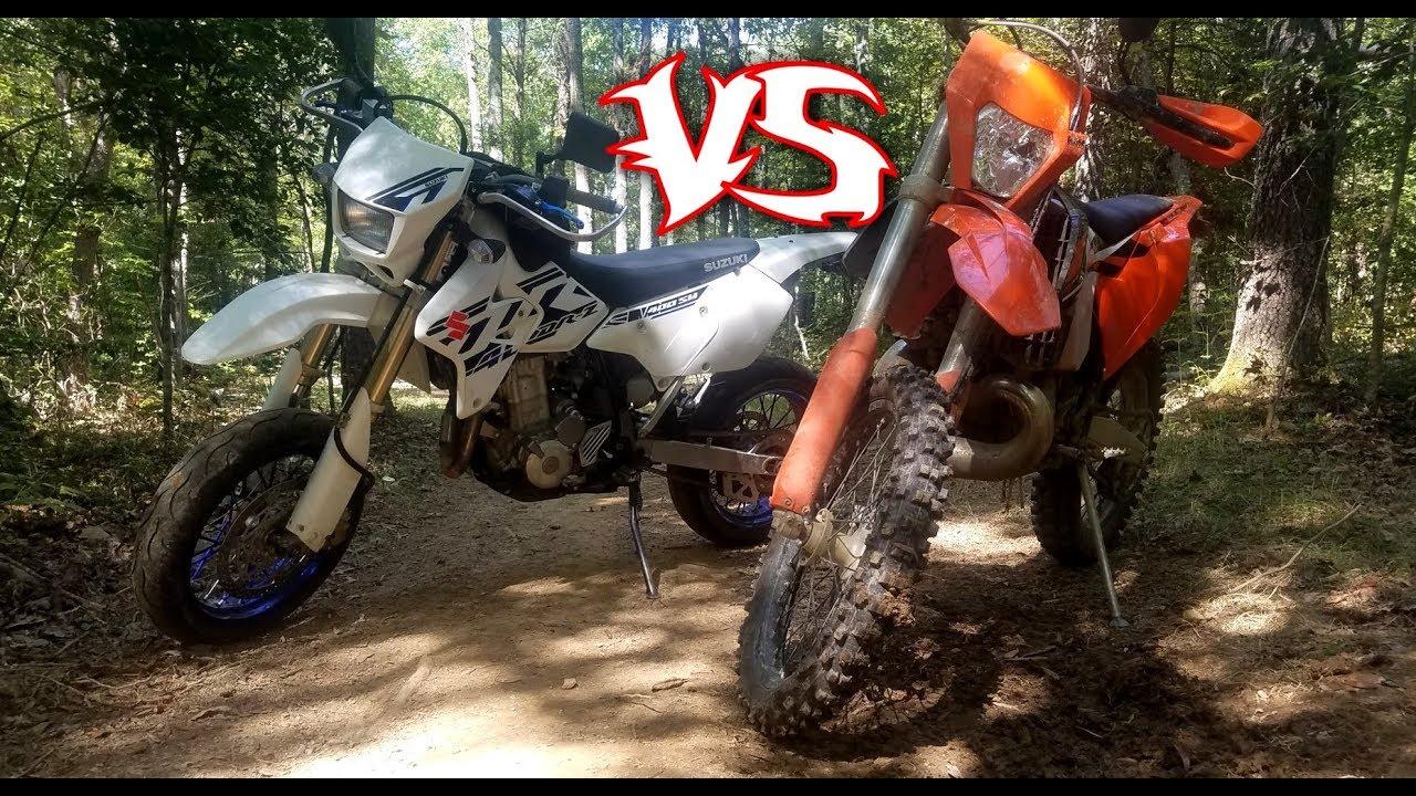 Which Bike is Better? Suzuki DRZ400 VS KTM 300