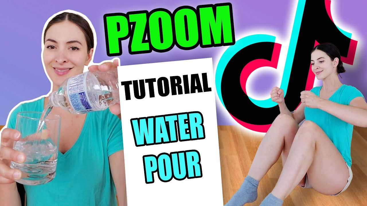 PZoom with Water Pour Tutorial - How it's done!   C: lightskinyogi