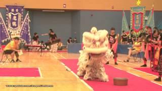 第21屆全港公開學界龍獅藝錦標賽:中學獅藝地青組 - (8)