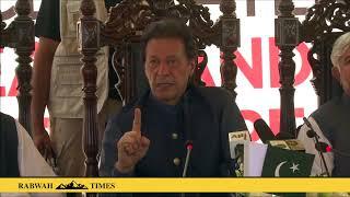 Imran Khan tells Pakistanis no Jihad for Kashmir