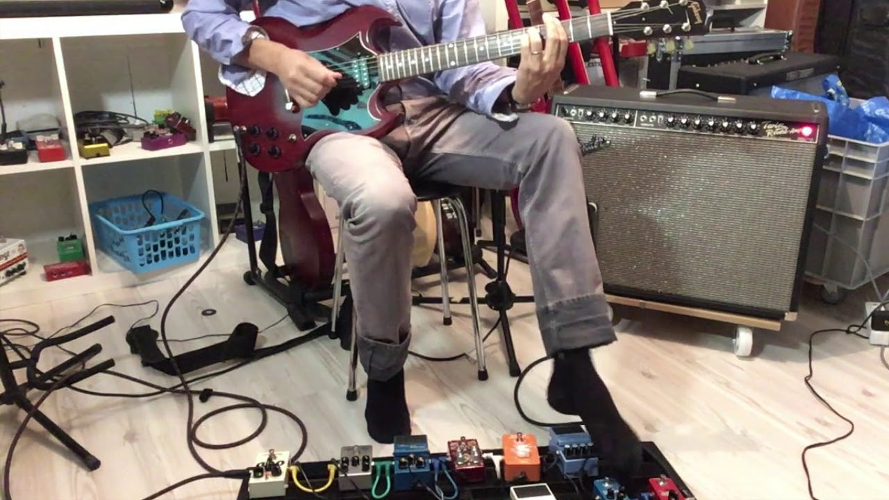 FENDER TWIN REVERB + GIBSON SG FADED