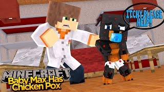 Minecraft - Donut the Dog Adventures -BABY MAX ASKS FOR HELP!!!!