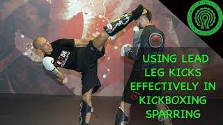 Kickboxing Sparring Drills Using the Lead Leg Kick Tutorial