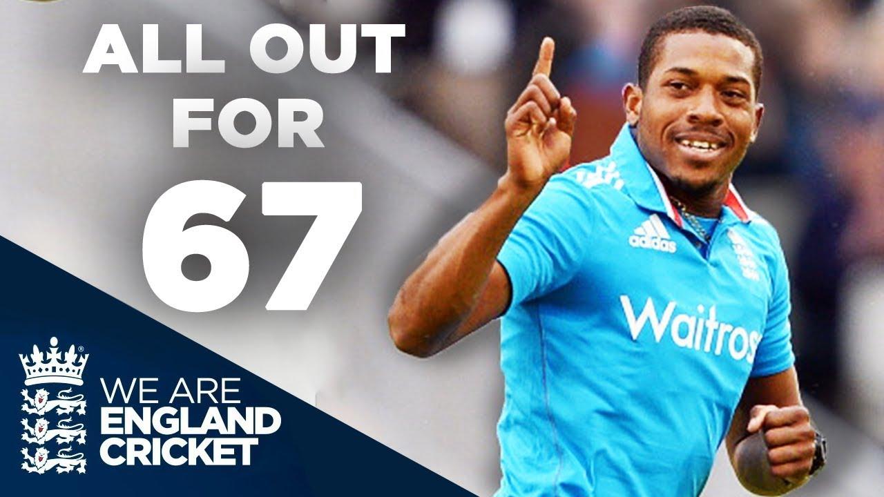England Bowl Sri Lanka Out For 67 | England v Sri Lanka ODI 2014 - Full Highlights