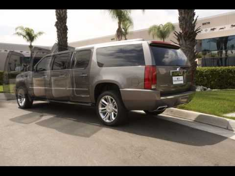 2013 platinum 6 door escalade limousine limo by quality coachworks youtube. Black Bedroom Furniture Sets. Home Design Ideas