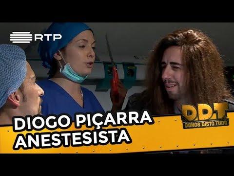Diogo Piçarra anestesista | Donos Disto Tudo