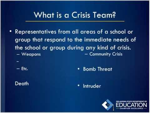 Building A Crisis Team