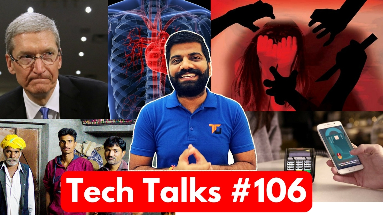 Tech Talks #106 - Girl's Number in 50 Rs, 36Rs/GB, Whatsapp Emoji, Supercomputer Health, Samsun
