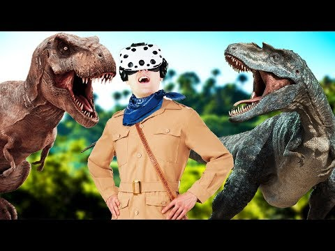 VIRTUAL REALITY DINOSAURS! - ARK Park - VR HTC Vive