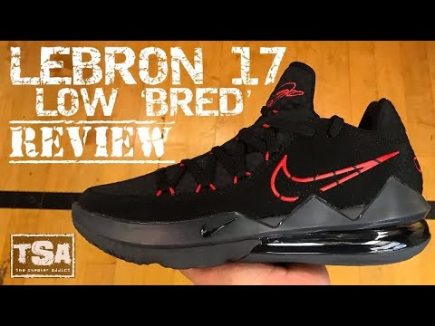 Nike Lebron 17 Low Bred Sneaker Detailed Review