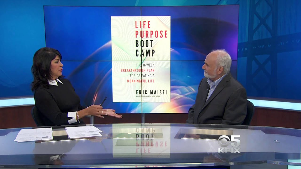 "Interview with ""Life Purpose Boot Camp"" author, Eric Maisel"