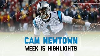 Cam Newton Throws for 300 Yards & 2TDs | Redskins vs. Panthers | NFL Week 15 Highlights