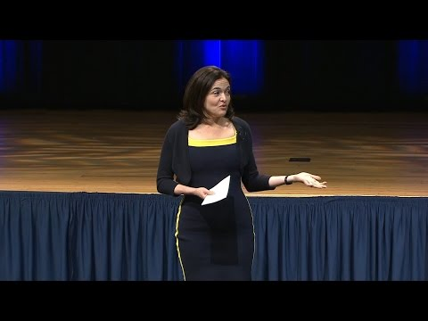 Lean in: A Discussion on Leadership with Sheryl Sandberg