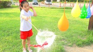 بولام العب بالونات المياه I Learn Colors With Balloons