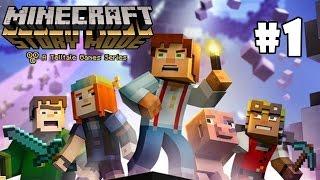 Baixar Minecraft Story Mode - O INÍCIO DA AVENTURA! #1 (Episódio 1)