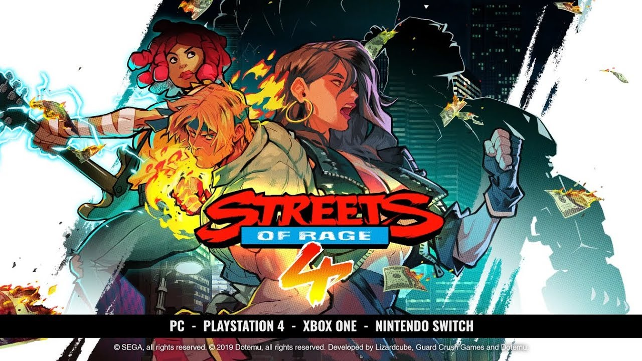 Streets Of Rage 4 Cherry Hunter Gamescom 2019 Youtube