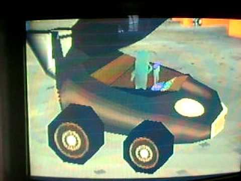 Nicktoons Racing PS1 Finale