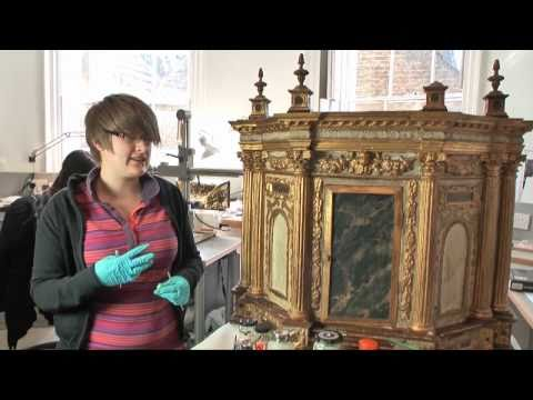 Conservation at the City & Guilds of London Art School