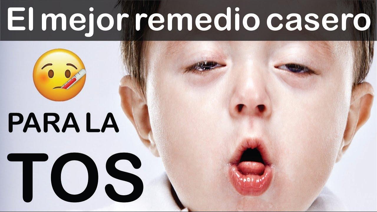 remedio casero para la tos en un niño