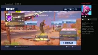 Live fortnite /FR/PS4  je joue avec vous