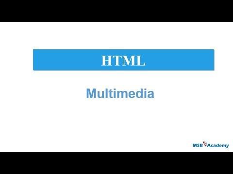 HTML Multimedia Tutorial In Telugu | Media | Audio | Video | Plug-in |