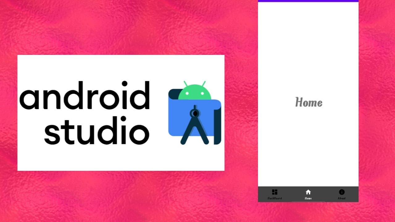 How to Implement Bottom Navigation With Activities in Android Studio
