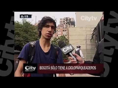 Bogotá sólo cuenta con 4 Cicloparqueaderos. | CityTV | Noviembre 18