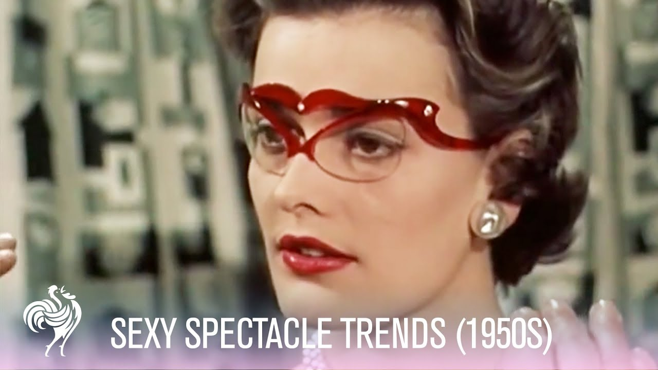 e02a00589fba Sexy Spectacle Trends   Glasses Fashions (1955)
