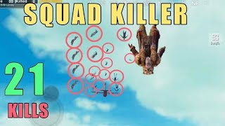Destroying Squads In Erangel | Solo Vs Squad | PUBG Mobile