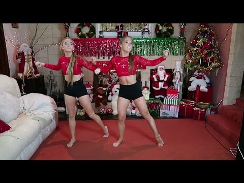 How To Create A Contemporary Dance Routine: Christmas Edition! | The Rybka Twins