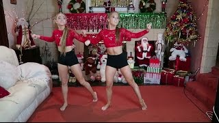 How To Create A Contemporary Dance Routine: Christmas Edition!  The Rybka Twins