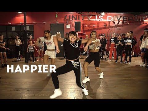 "Tati McQuay, Trinity,Tori😍🔥 MARSHMELLO - ""HAPPIER"" Dance | Matt Steffanina & Bailey Sok Choreography"
