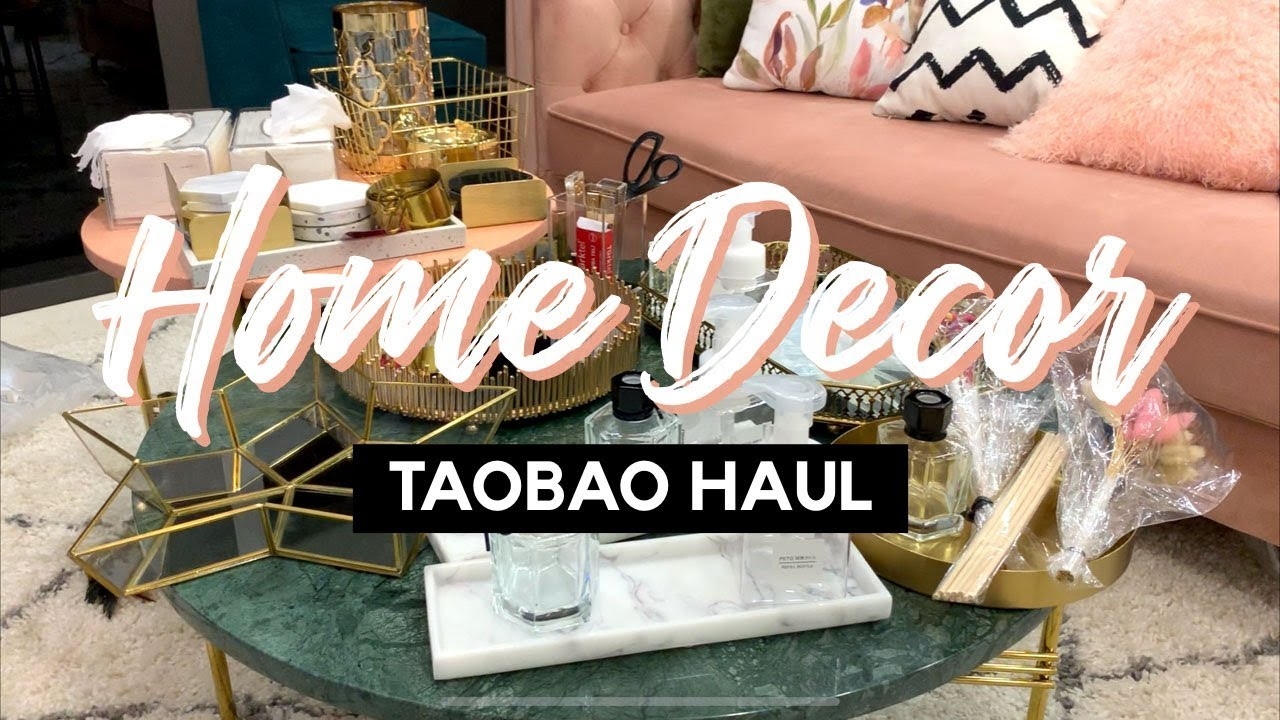 Shopping Links To My Taobao Home Decor Haul Beautifuladieu Youtube