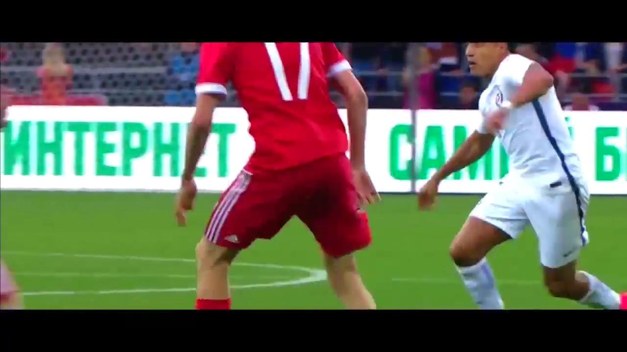 Россия 1:1 Чили Обзор Матча 10/06/2017 HD