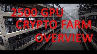 5Min Quick Overview of BBTs 2500 GPU Mining Farm