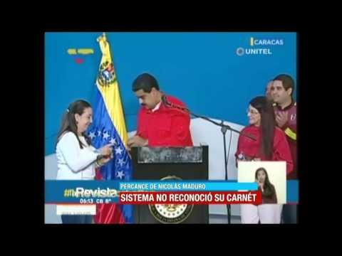 Sistema Venezolano No Reconoció La Cédula De Identidad De Nicolás Maduro