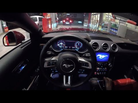 Ford Mustang GT V - Night POV Drive