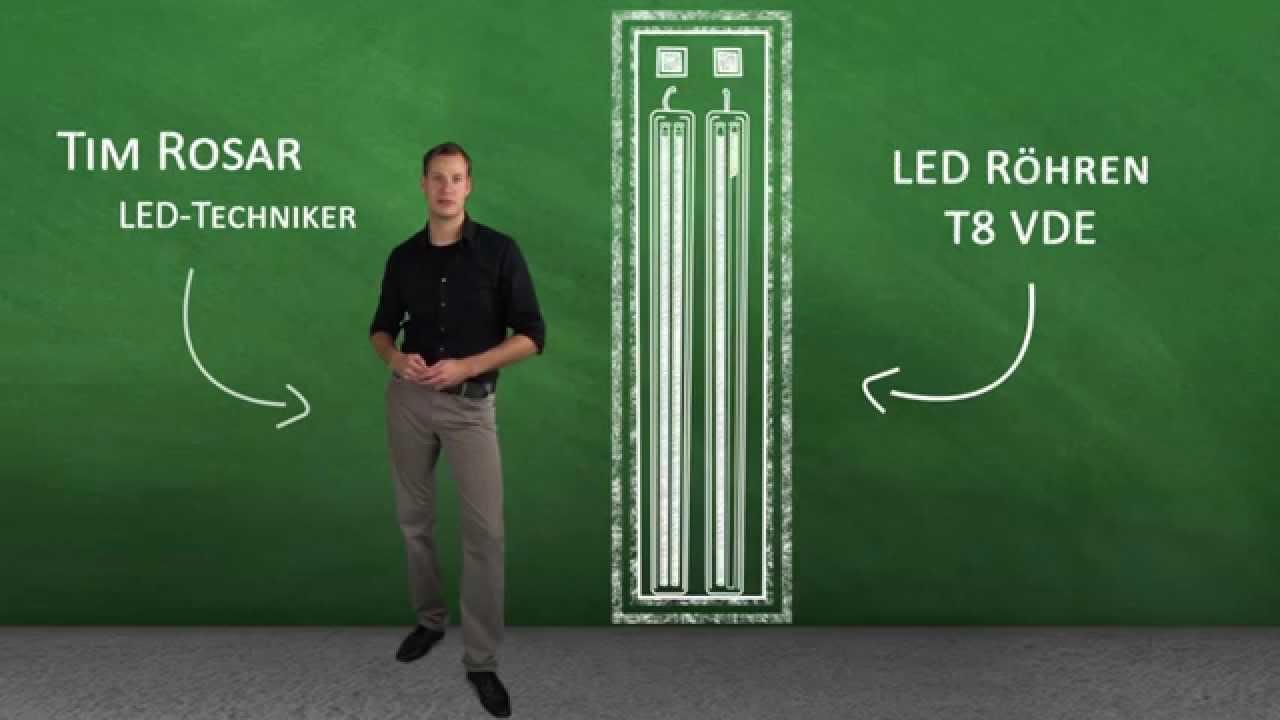 innogreen produktvideo led r hre t8 vde lang youtube. Black Bedroom Furniture Sets. Home Design Ideas