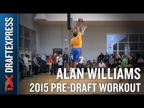 Alan Williams 2015 NBA Draft Workout Video  DraftExpress