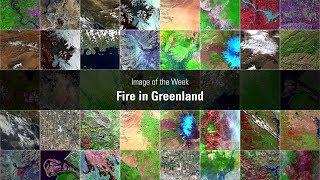 Fire in Greenland