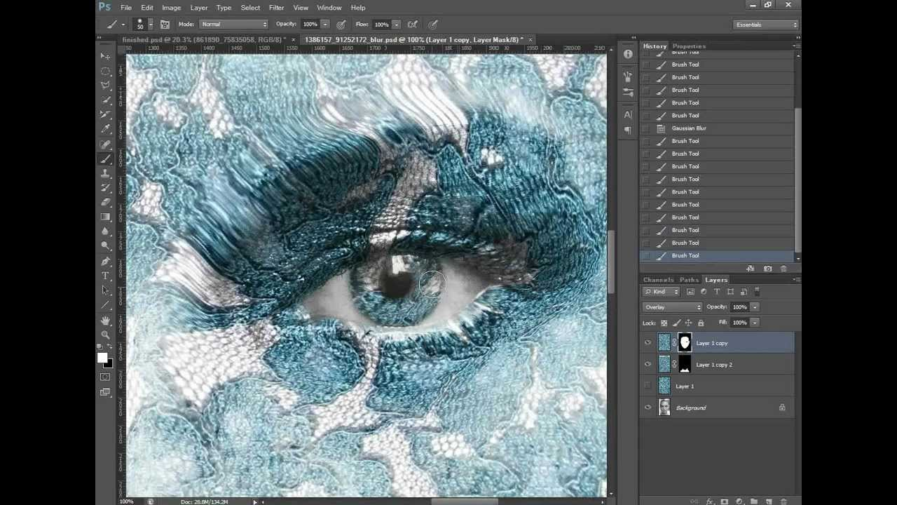 how to make tennisball textures on photoshop